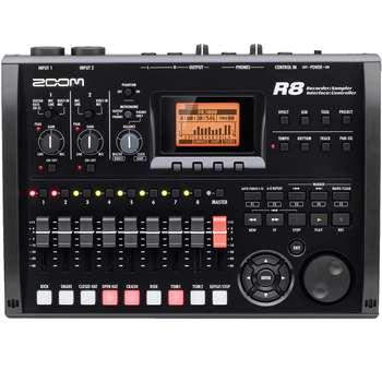 ضبط کننده حرفه ای صدا زوم مدل R8 | Zoom R8 Portable Multitrack Recorder