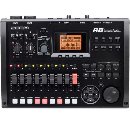 ضبط کننده حرفه ای صدا زوم مدل R8