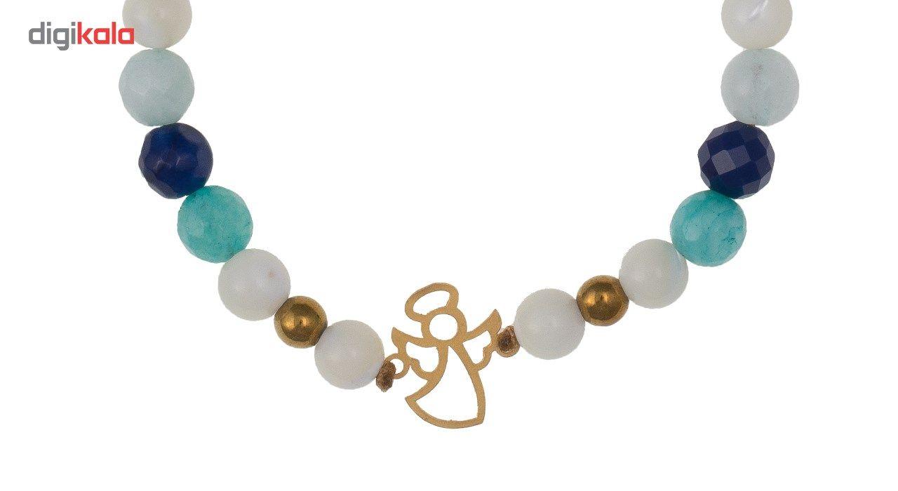 دستبند طلا 18 عیار گرامی گالری مدل B026 -  - 4