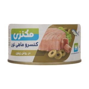 کنسرو ماهی تون در روغن زیتون مکنزی - 180 گرم