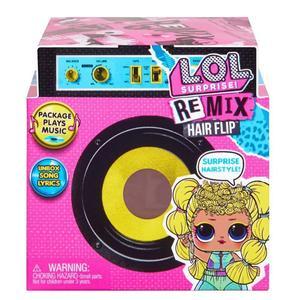 اسباب بازی شانسی ال او ال سوپرایز مدل Hair Flip Dolls Remix