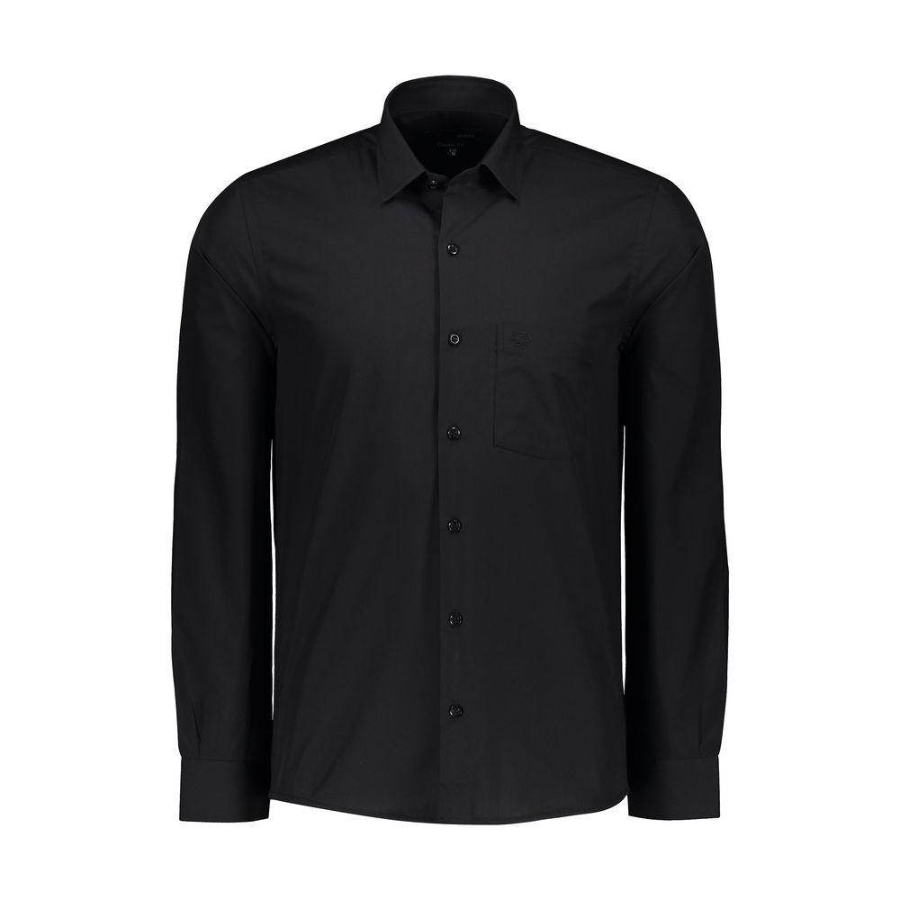 پیراهن مردانه پاتن جامه کد 98MC8528 رنگ مشکی