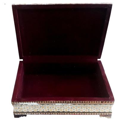 جعبه قرآن خاتم کاری مدل بسم الله کد 06