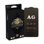 محافظ صفحه نمایش مات لورم مدل AGMATT001 مناسب برای گوشی موبایل اپل Iphone Xs Max