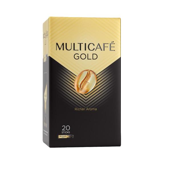 قهوه فوری گلد مولتی کافه - 40 گرم بسته 20 عددی