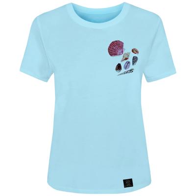 تیشرت زنانه 27 مدل صدف کد V01 رنگ آبی
