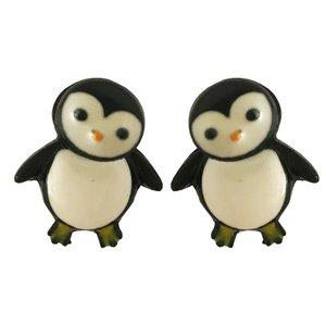 گوشواره دخترانه مدل  پنگوئن کد 00481