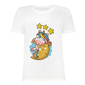 تی شرت آستین کوتاه دخترانه مدل SK991027-012