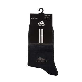 جوراب مردانه مدل A-2020 رنگ ذغالی