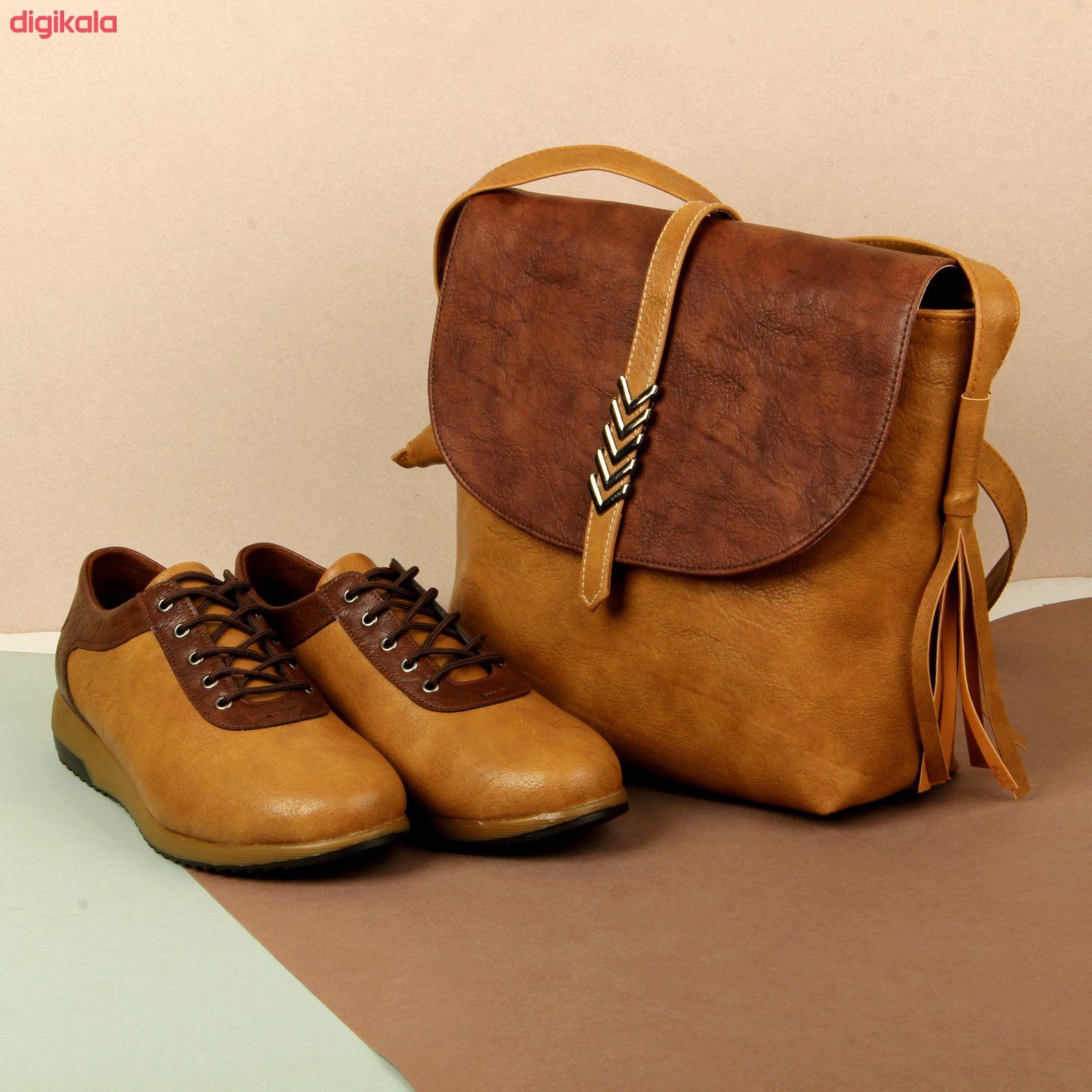 ست کیف و کفش زنانه باب مدل ثمین کد 928-3 main 1 9