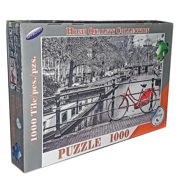 پازل 1000 تکه مدل دوچرخه