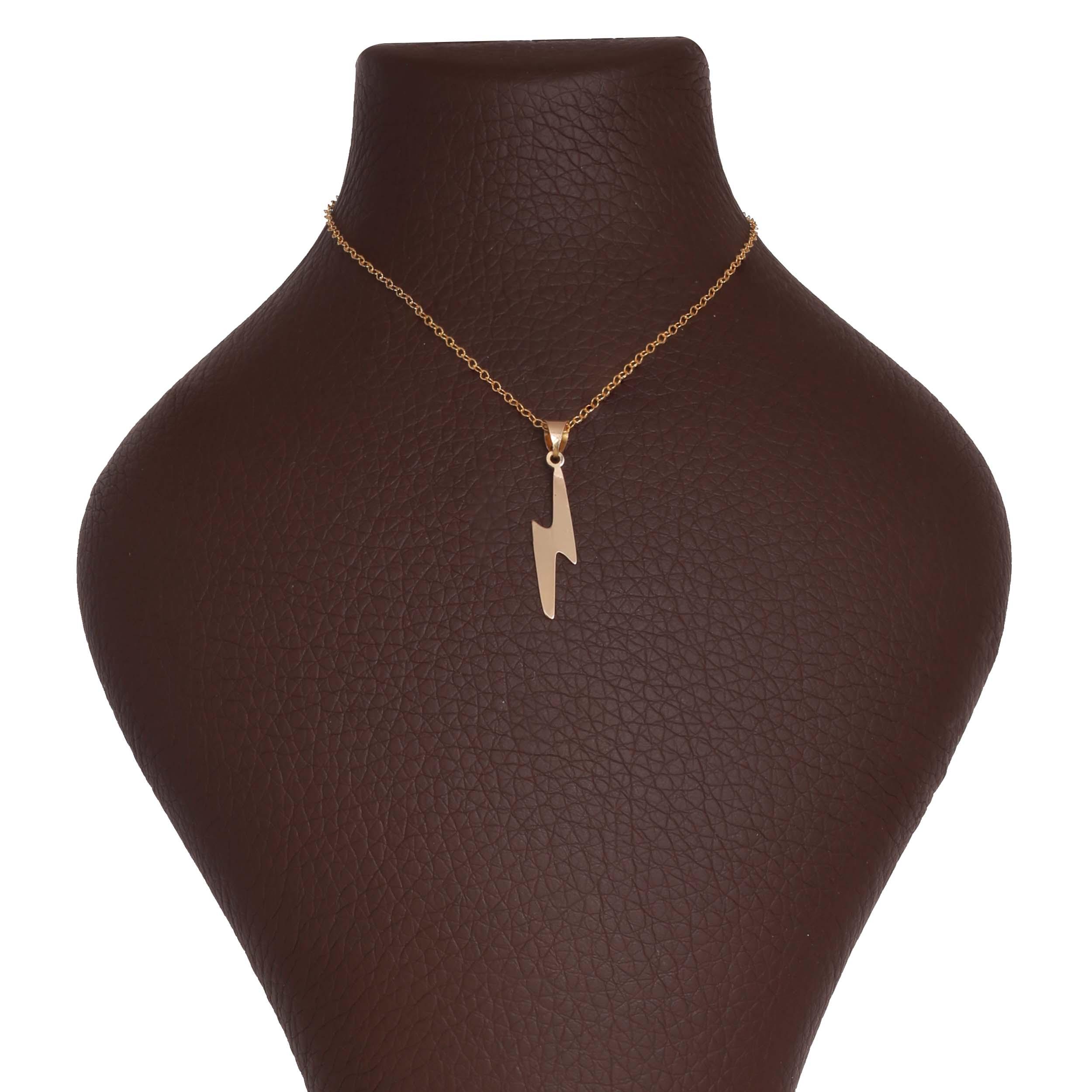 گردنبند طلا 18 عیار زنانه آمانژ کد 1142D9066
