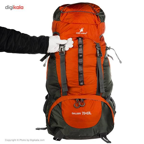 کوله پشتی کوهنوردی 80 لیتری کیپ اهد مدل Gallery main 1 10
