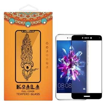 محافظ صفحه نمایش شیشه ای کوالا مدل Full Cover مناسب برای گوشی موبایل هوآوی Honor 8 Lite