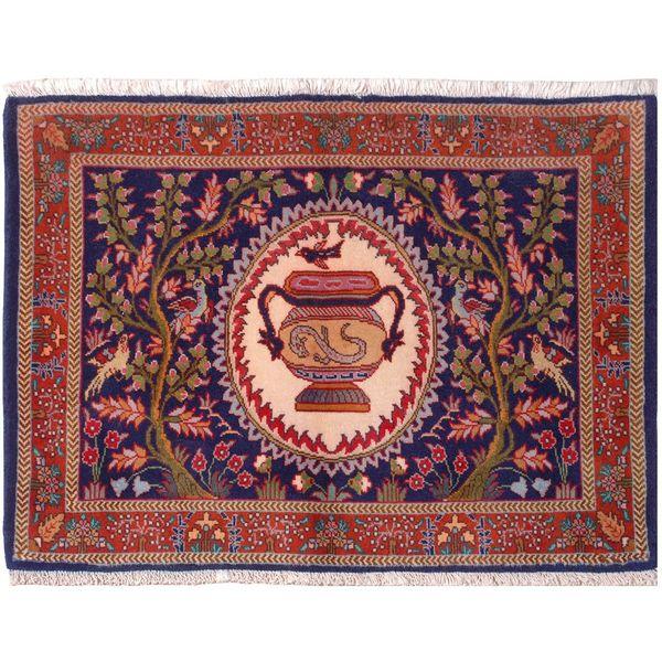 فرش قدیمی فرش هریس کد 102058