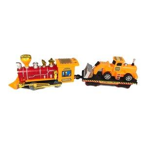 قطار اسباب بازی مدل راهسازی