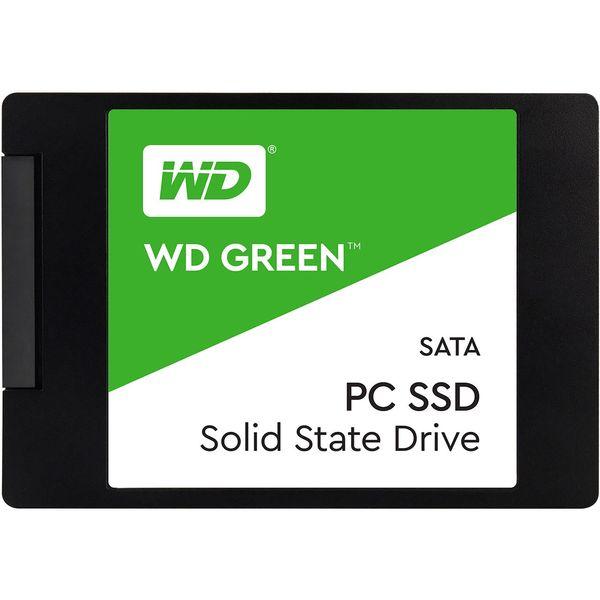 حافظه SSD وسترن دیجیتال مدل GREEN WDS480G2G0A ظرفیت 480 گیگابایت
