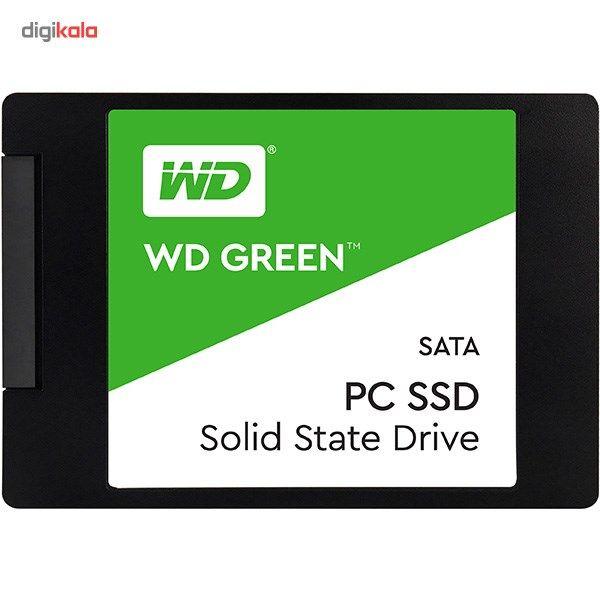 حافظه SSD وسترن دیجیتال مدل GREEN WDS480G2G0A ظرفیت 480 گیگابایت main 1 1