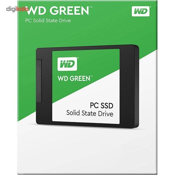 حافظه SSD وسترن دیجیتال مدل GREEN WDS480G2G0A ظرفیت 480 گیگابایت main 1 2