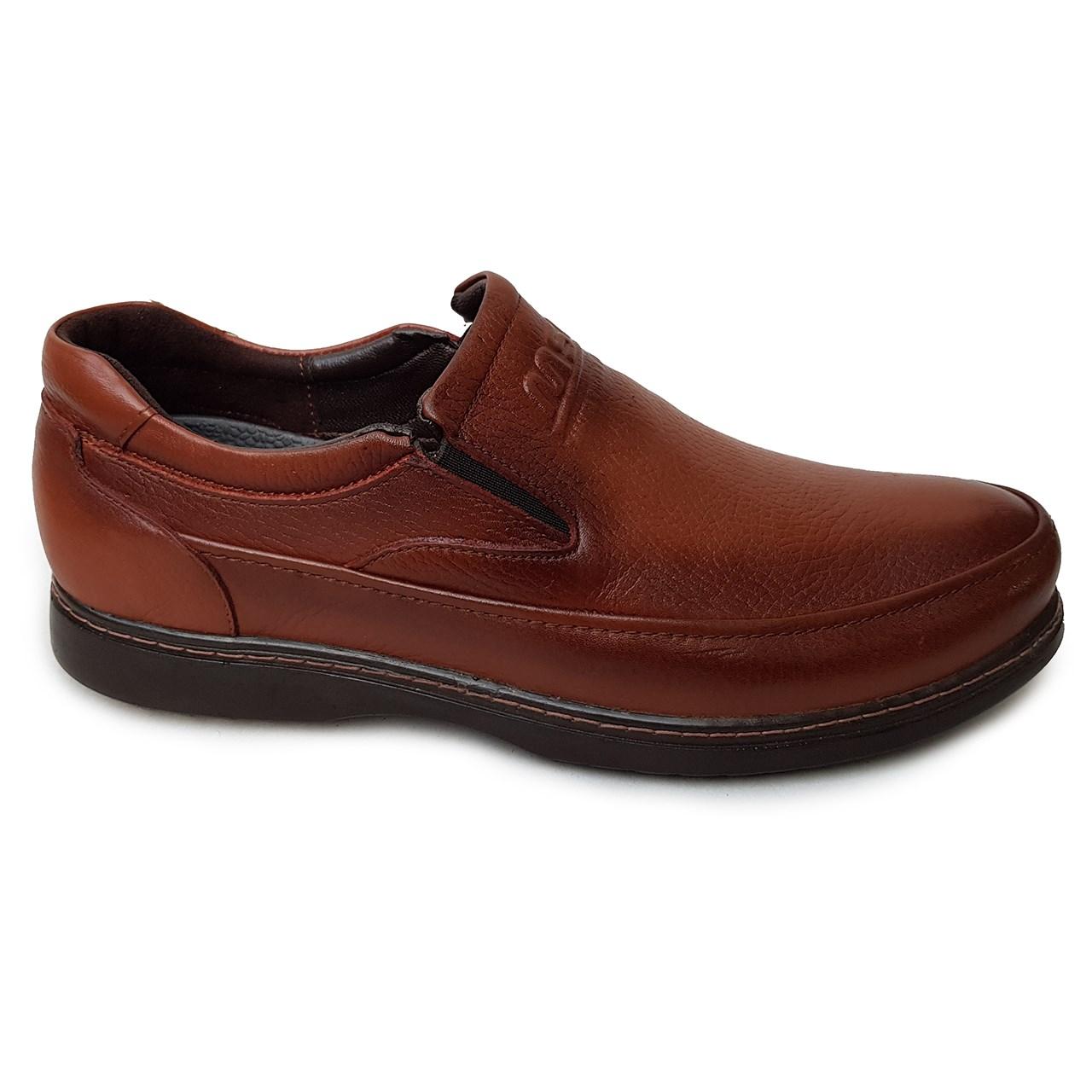 کفش مردانه چرم طبیعی دیاکو مدلMSL-PETRO-K-HONEY