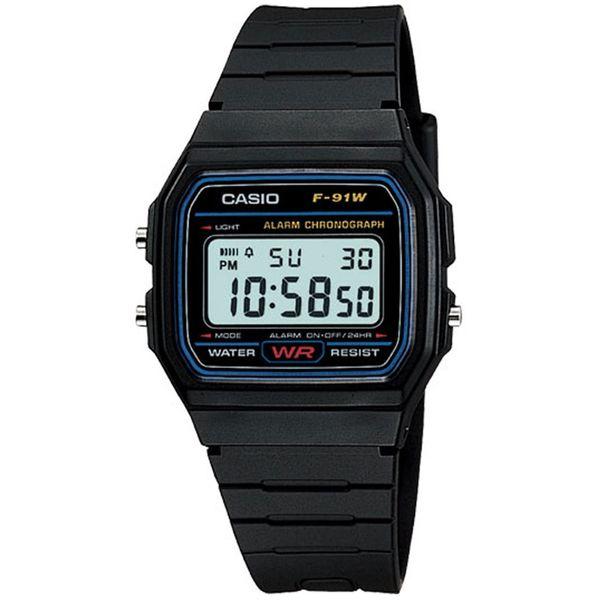 ساعت مچي ديجيتال کاسيو مدل F-91W-1DG | Casio F-91W-1DG Digital Watch