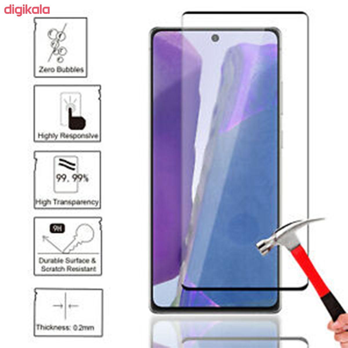 محافظ صفحه نمایش یووی مدل PHSI مناسب برای گوشی موبایل سامسونگ Galaxy note20 Ultra main 1 1