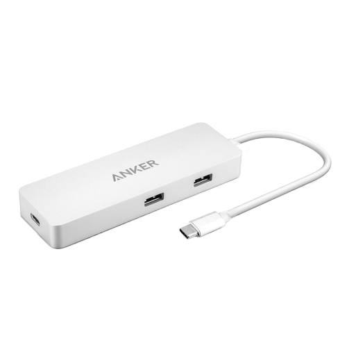 هاب 4 پورت USB-C به همراه Ethernet و Power Delivery  انکر مدل A8302041