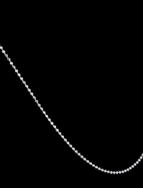 زنجیر نقره مایا مدل MSM209 -  - 2