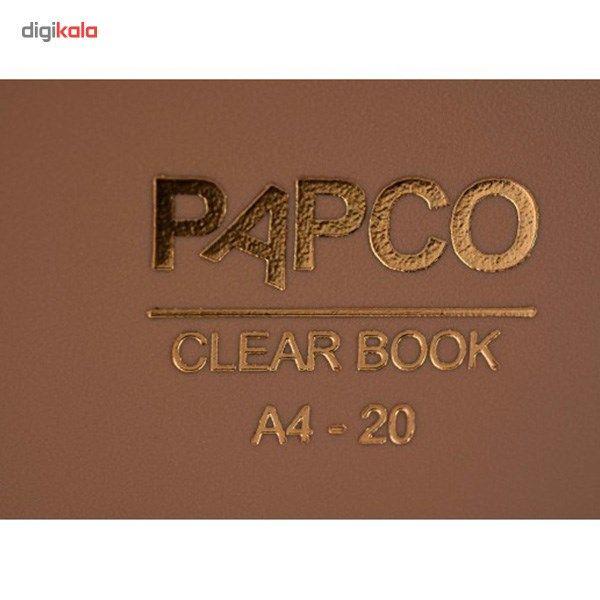 کلیر بوک 20 برگ پاپکو کد A4-20 main 1 9
