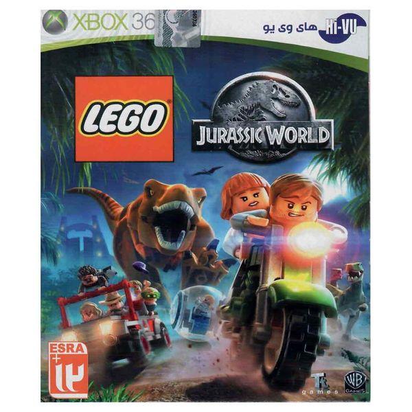بازی Lego Jurassic World مخصوص ایکس باکس 360