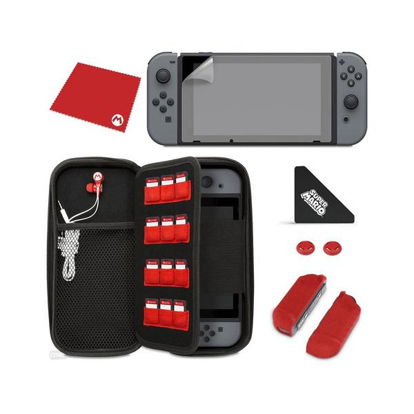مجموعه کیف و محافظ کنسول نینتندو سوییچ مدل Mario STARTER KIT