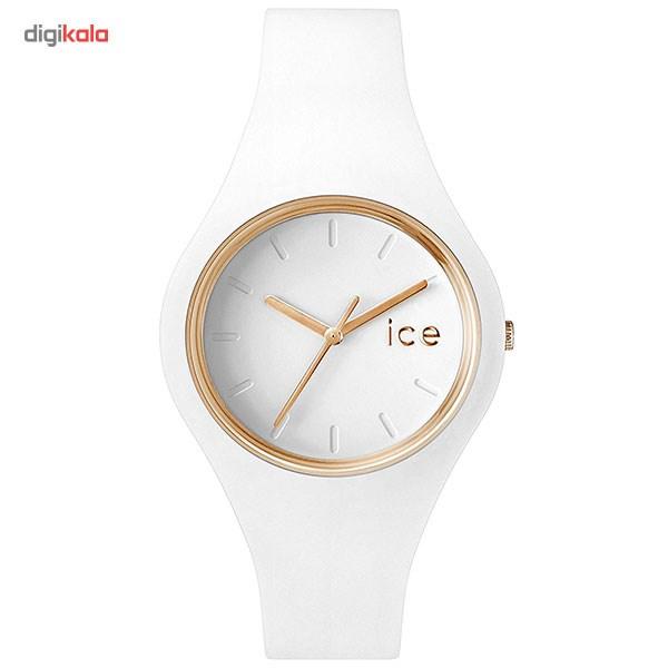 ساعت مچی عقربه ای زنانه آیس واچ مدل ICE.GL.WE.S.S.14