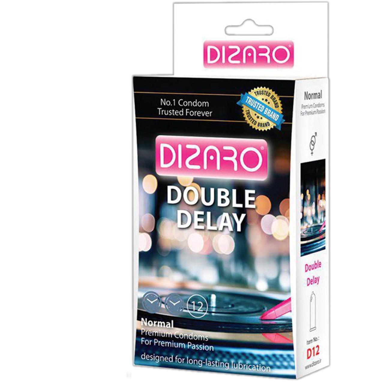 کاندوم دیزارو مدل CLASSIC DOBLE DELAY کد D12 بسته 12 عددی