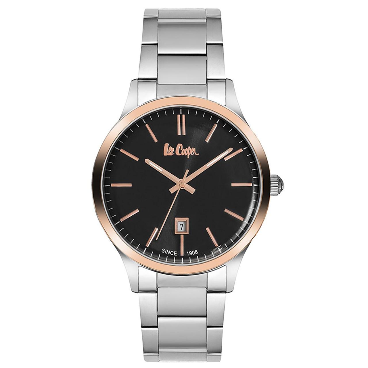 ساعت مچی عقربه ای مردانه  لی کوپر مدل LC06292.550 45