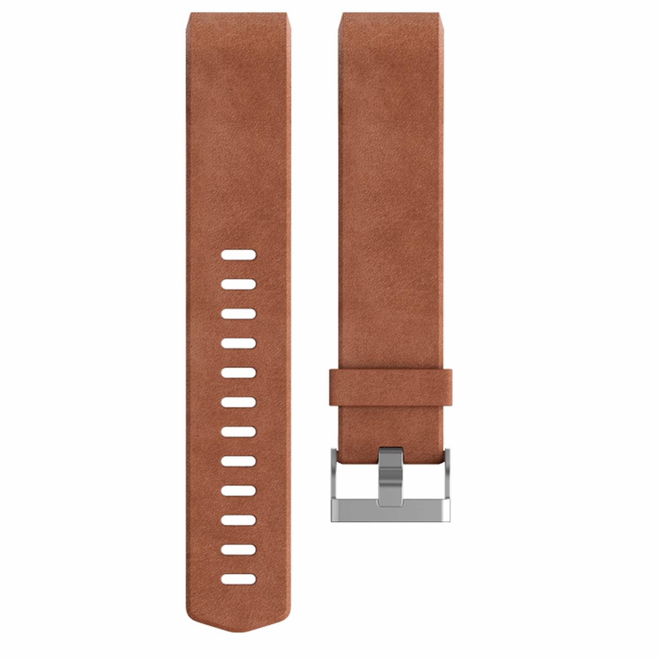 بند مچ بند هوشمند فیت بیت مدل Charge 2 Leather سایز کوچک