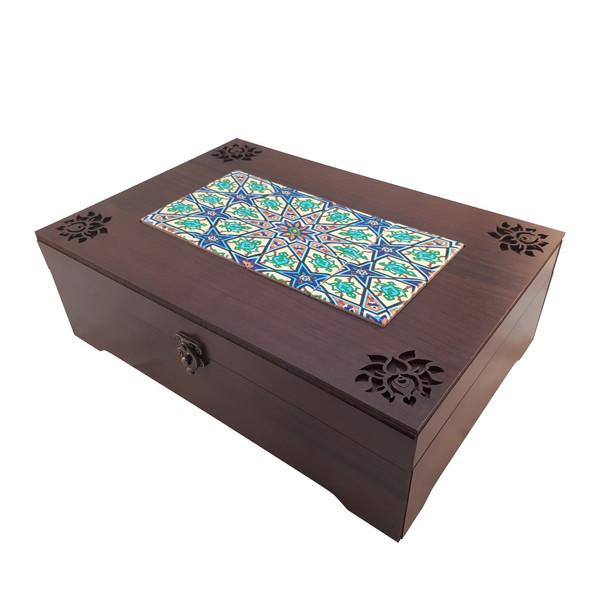 جعبه چای  کیسه ای عشقی مدل ستایش
