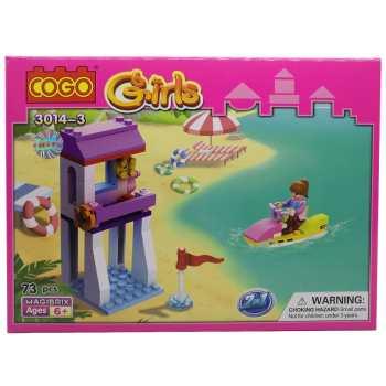 ساختنی کوگو مدل دخترانه 3-3014 کد KTS-055-3 تعداد 73  قطعه