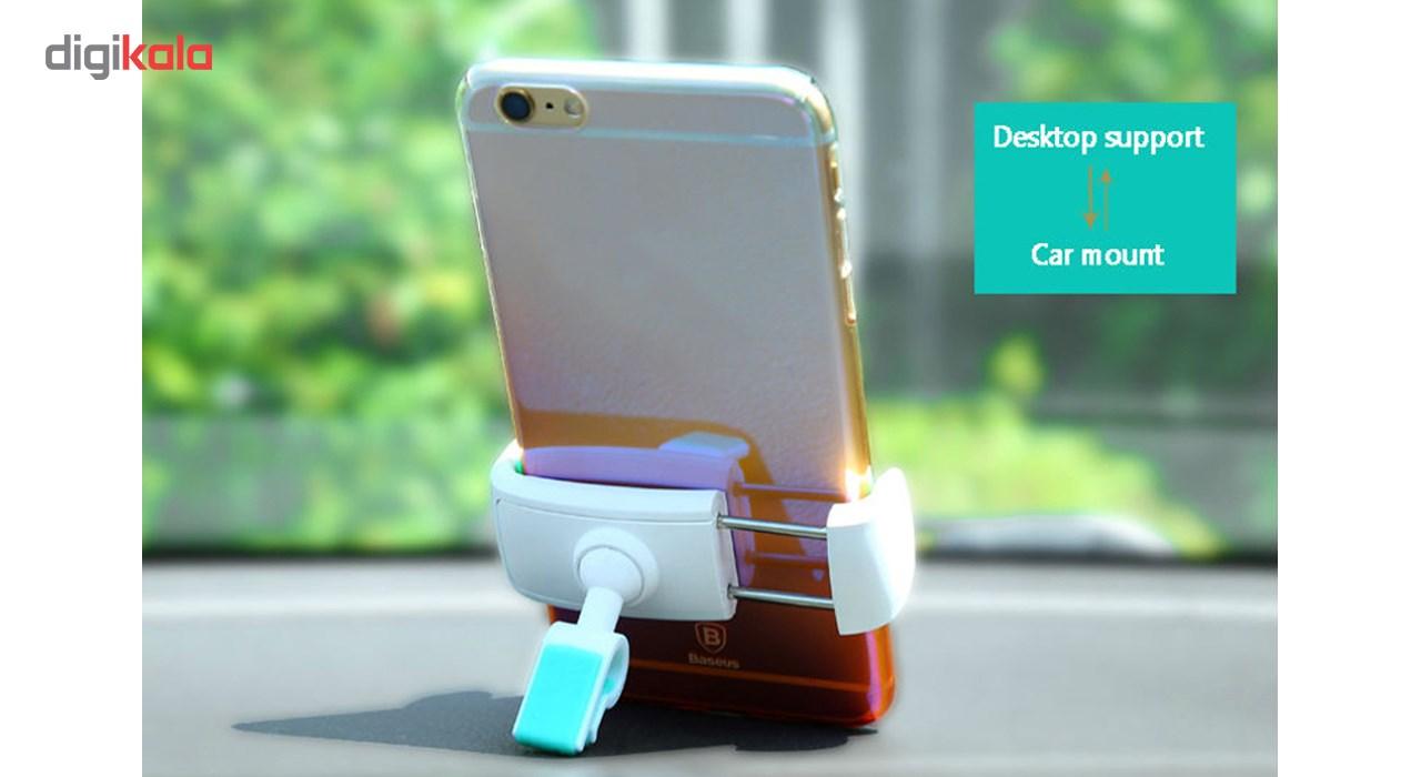 پایه نگهدارنده گوشی موبایل باسئوس مدل Stable Series Car Mount              ( قیمت و خرید)