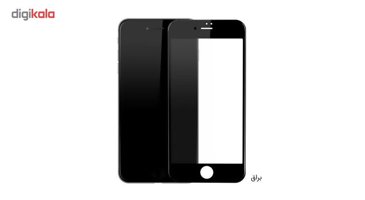 محافظ صفحه نمایش شیشه ای کوالا مدل Full Cover مناسب برای گوشی موبایل اپل آیفون 8 پلاس به همراه محافظ پشت Tempered main 1 2