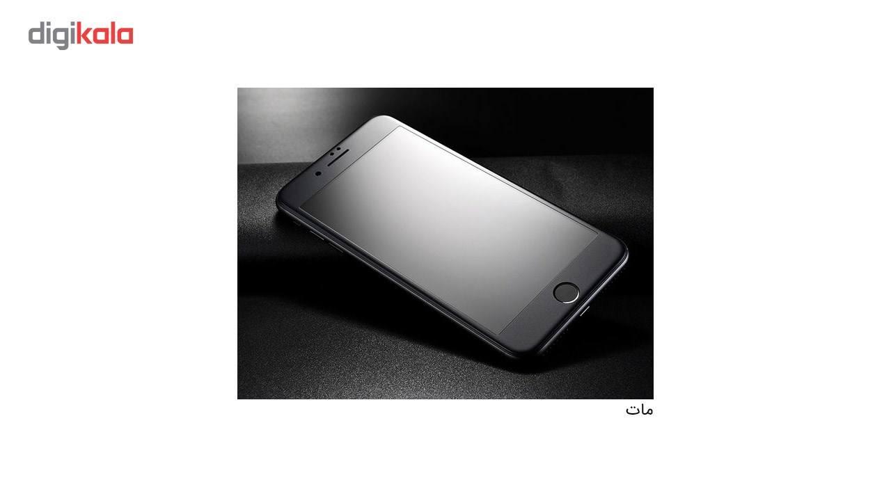محافظ صفحه نمایش شیشه ای کوالا مدل Full Cover مناسب برای گوشی موبایل اپل آیفون 8 پلاس به همراه محافظ پشت Tempered main 1 3