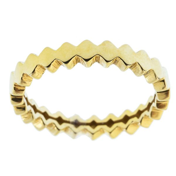 انگشتر طلا 18 عیار ماهک مدل MR0251