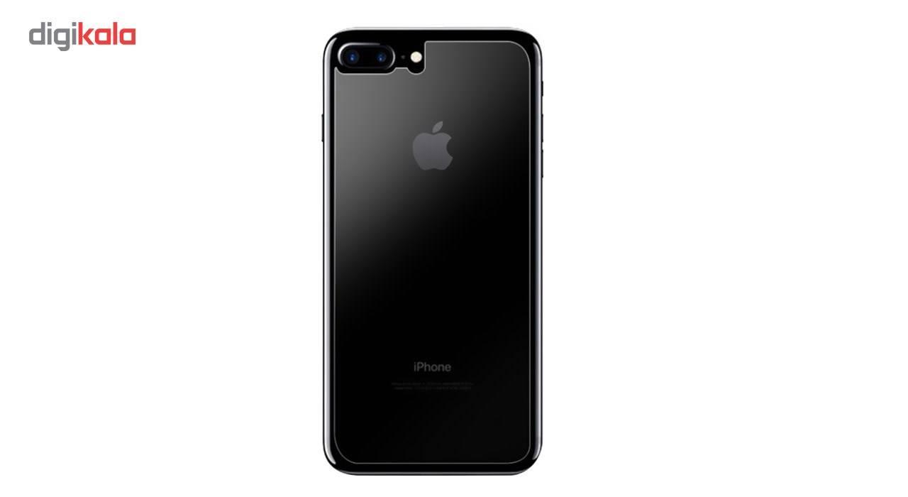 محافظ صفحه نمایش شیشه ای کوالا مدل Full Cover مناسب برای گوشی موبایل اپل آیفون 8 پلاس به همراه محافظ پشت Tempered main 1 6