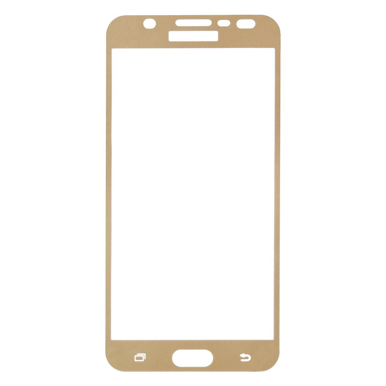 محافظ صفحه نمایش شیشه ای تمپرد مدل Full Cover مناسب برای گوشی موبایل سامسونگ Galaxy J7 Prime              ( قیمت و خرید)
