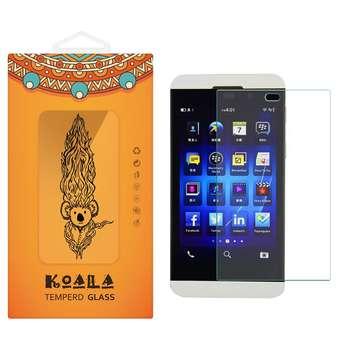 محافظ صفحه نمایش شیشه ای کوالا مدل Tempered مناسب برای گوشی موبایل بلک بری Z10