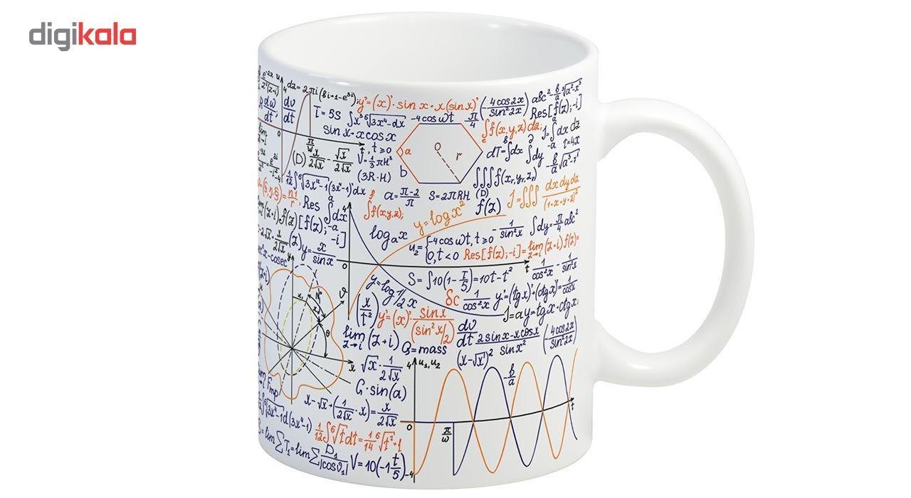 ماگ انارچاپ طرح ریاضی مدل MU224 main 1 1