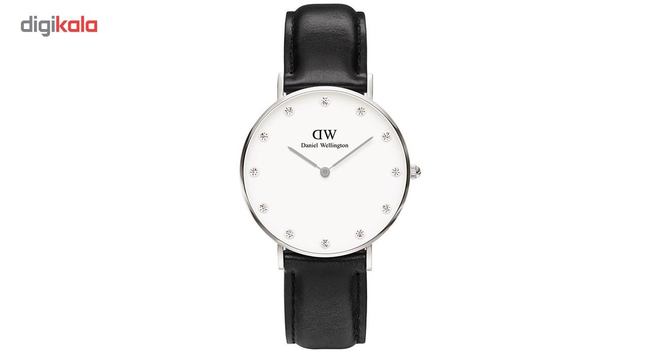 ساعت مچی عقربه ای زنانه دنیل ولینگتون مدل DW00100080