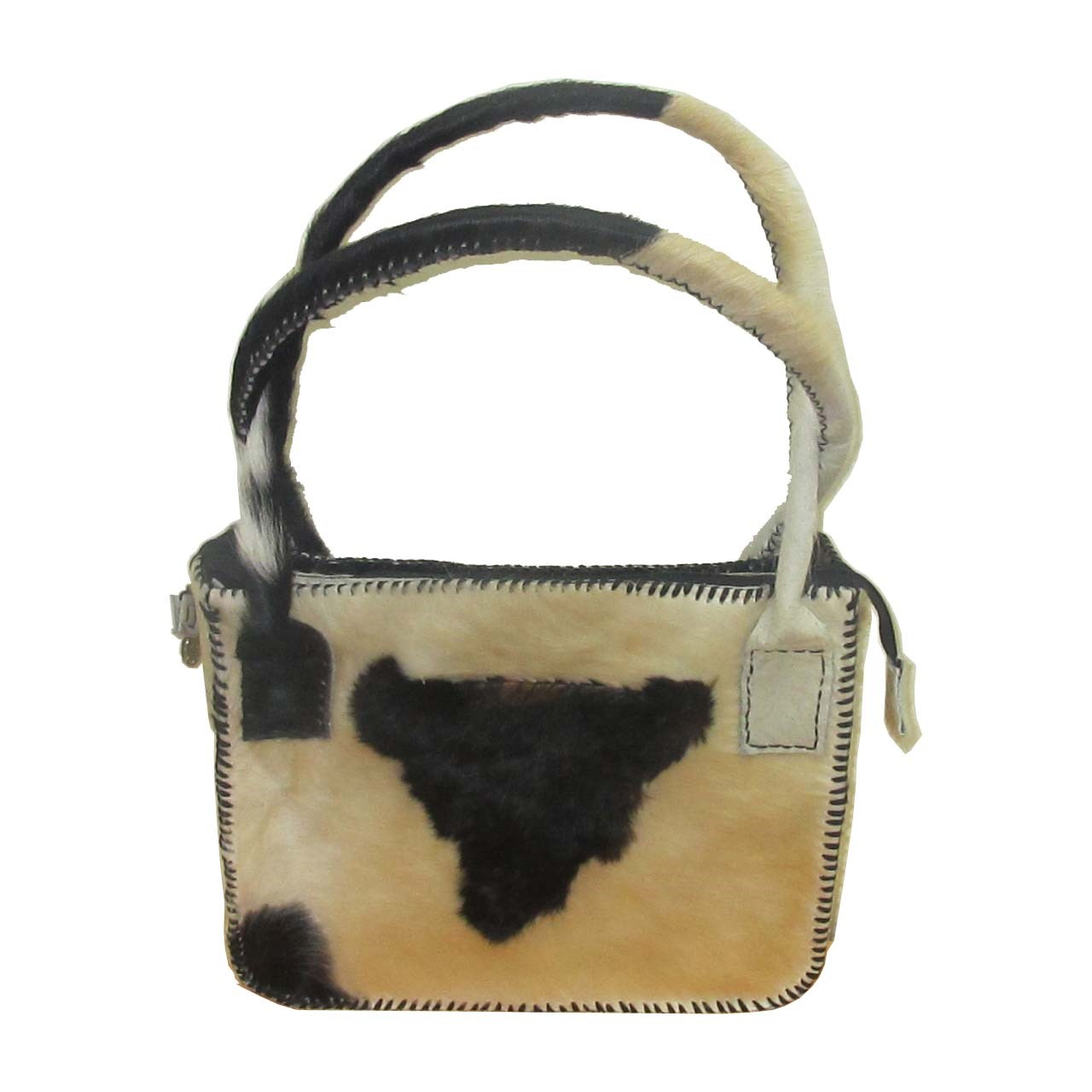 کیف زنانه چرم طبیعی مدل پشمی
