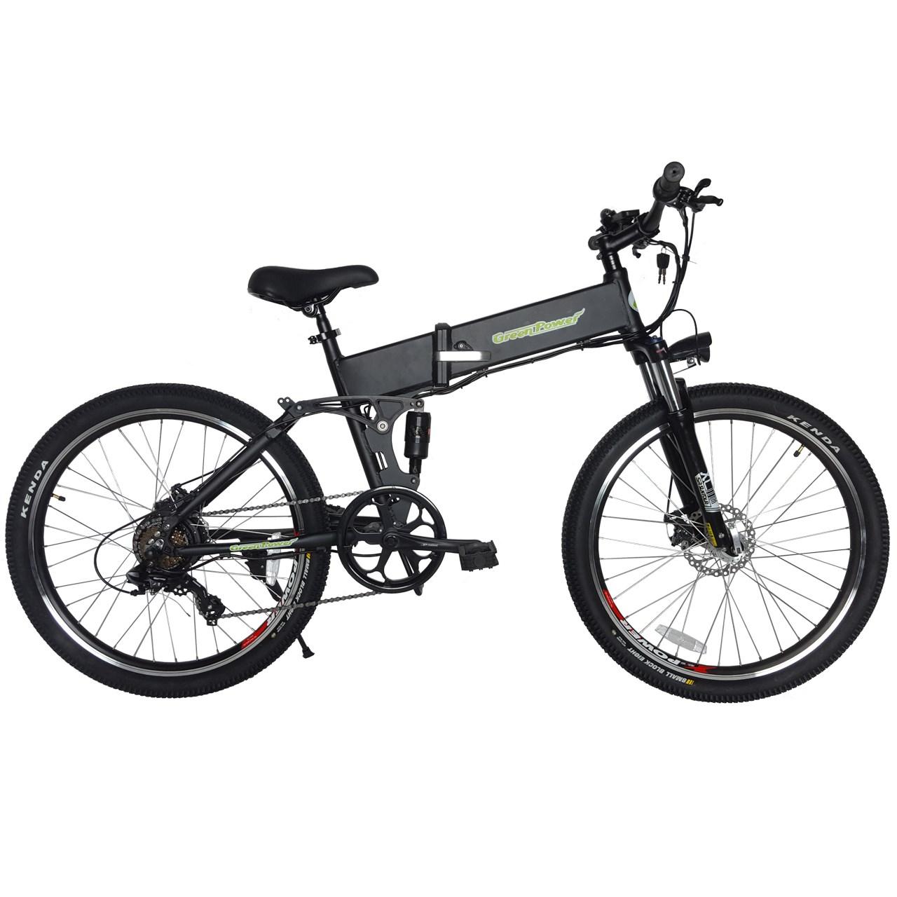 دوچرخه برقی گرین پاور مدل EB-18B سایز 26