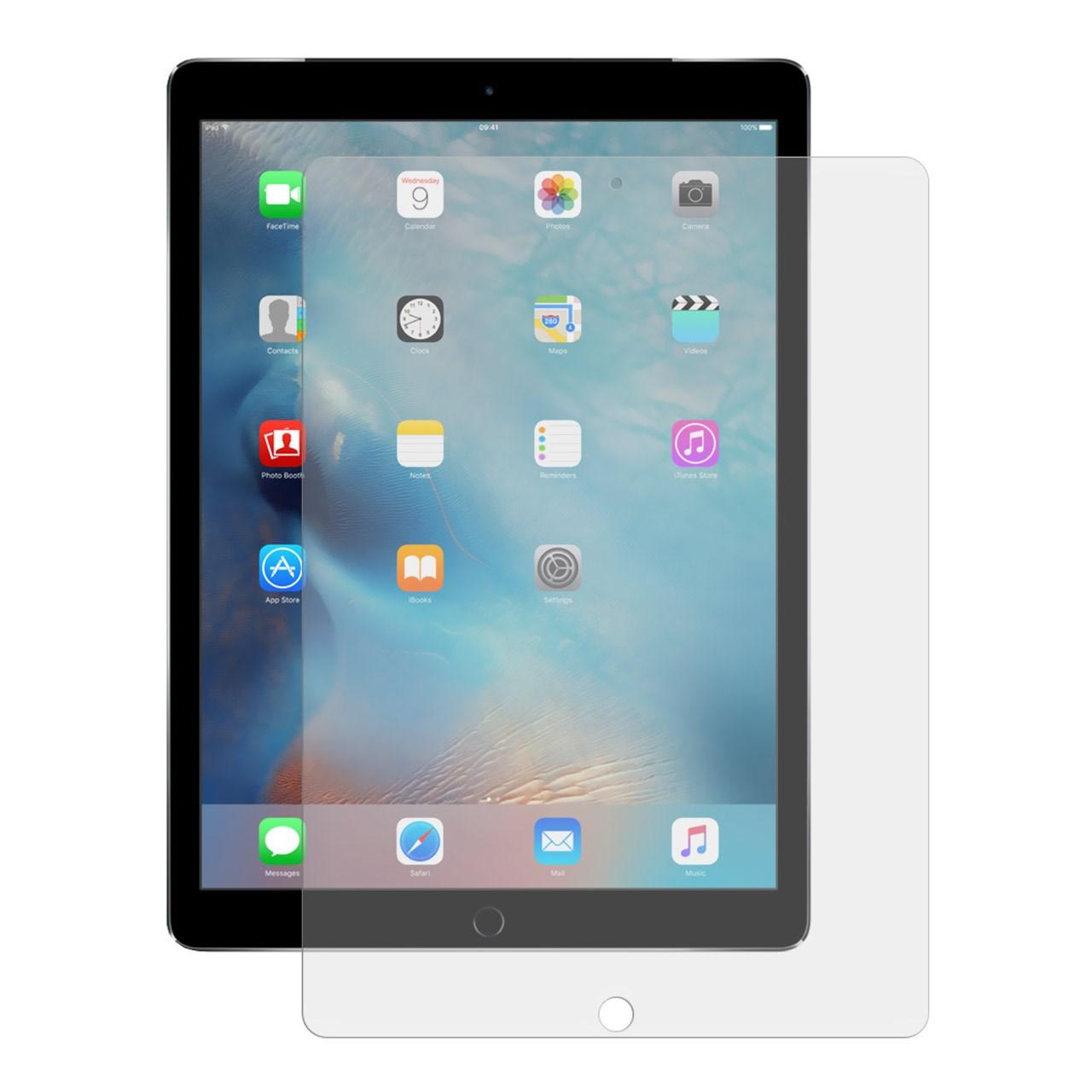 محافظ صفحه نمایش شیشه ای تمپرد مناسب برای تبلت اپل iPad Pro 9.7