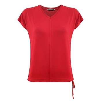 تی شرت زنانه افراتین کد 2544 رنگ قرمز
